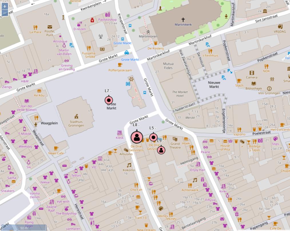 Interactive kaart